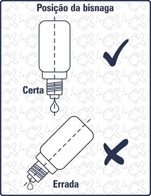 posição da bisnaga Labcon Test Dureza em Carbonatos KH