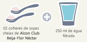 como usar Alcon Club Beija-Flor Néctar